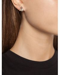 Vivienne Westwood   White 'grace Bas Relief' Stud Earrings   Lyst