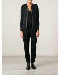 IRO - Black 'Clever' Knitted Jacket - Lyst