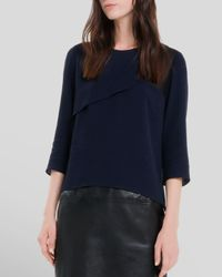 Sandro - Blue Top - Efie - Lyst