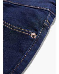Mango Blue Slim-Fit Dark Jan Jeans for men