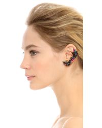 Erickson Beamon | Undergound Ear Crawler - Purple Multi | Lyst