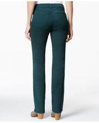 Charter Club | Black Lexington Colored Straight-leg Jeans | Lyst