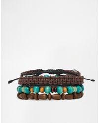 Classics 77 - Blue Money First Bracelet Pack for Men - Lyst