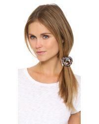 Venessa Arizaga - Brown Sweet & Twisted Hair Tie - Lyst
