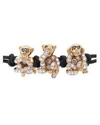 Pippo Perez Metallic Cord Bracelet
