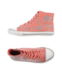 Ash - Pink High-tops & Trainers - Lyst