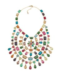 Carolee | Multicolor Cabaret Statement Necklace | Lyst