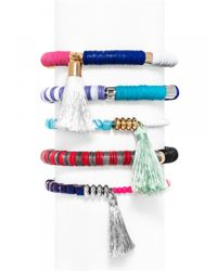 BaubleBar | Multicolor Cape Town Bracelet Set - Pastel | Lyst
