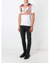 Vivienne Westwood White 'Cleavage' T-Shirt for men