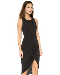 Blessed Are The Meek - Elysian Twist Dress - Black - Lyst