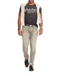 Polo Ralph Lauren | Black Jersey Logo T-shirt for Men | Lyst