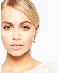 Les Nereides | Metallic Jewel Drop Earrings | Lyst