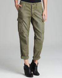 Rag & Bone Green Pants Combat