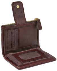 Fossil Multicolor Emory Leather Multifunction Indexer