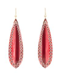 Mark Davis | Metallic Annalisa Teardrop Earrings | Lyst