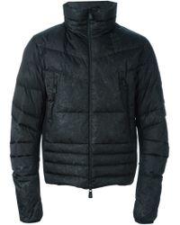 Moncler Grenoble Black 'canmore' Padded Jacket for men