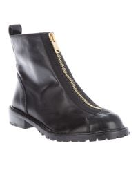 Marc By Marc Jacobs - Black Zip Ankle Boot - Lyst