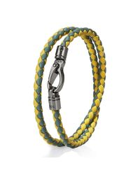 Tod's | Yellow Mycolors Bracelet In Leather for Men | Lyst