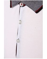 BOSS Orange - White Polo Shirt 'pejo 1' In Piqué for Men - Lyst