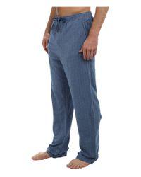 Tommy Bahama - Blue Yarn Dye Knit Herringbone Lounge Pant for Men - Lyst