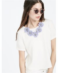 BaubleBar - Purple Lilac Collar - Lyst