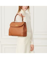 Ralph Lauren - Brown Medium Tiffin Bag - Lyst