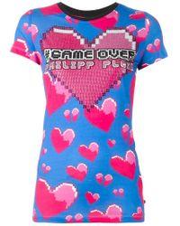 Philipp Plein | Pink 'the Sweetest' T-shirt | Lyst
