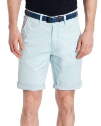 Ted Baker | Blue Bagend Chino Short for Men | Lyst