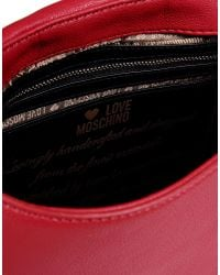 Love Moschino | Red Medium Fabric Bag | Lyst