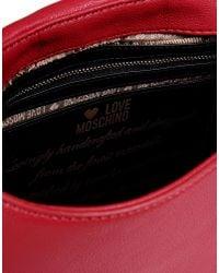 Love Moschino - Red Medium Fabric Bag - Lyst