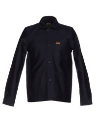 Carhartt - Black Coat for Men - Lyst
