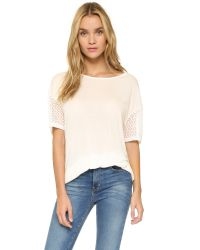 Apres Ramy Brook - Natural Oakley Tee - Lyst