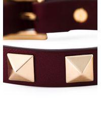 Valentino - Pink 'rockstud' Bracelet - Lyst