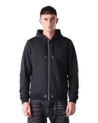 DIESEL | Black J-Hellswe Casual Jacket  for Men | Lyst