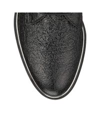 Jimmy Choo Black Bran Flat