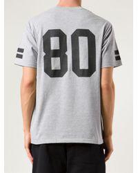 Stussy Gray Athletic Tshirt for men