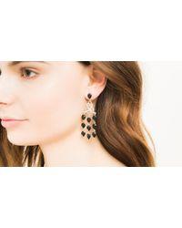 John Hardy | Black Classic Chain Chandelier Earrings | Lyst