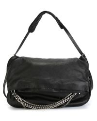 Jimmy Choo - Black 'biker' Shoulder Bag - Lyst