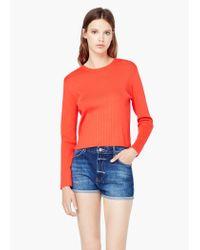 Mango | Red Fine-knit Sweater | Lyst