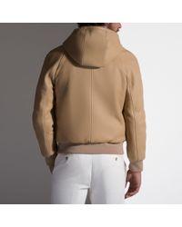 Bally Natural Reversible Deerskin Jacket for men