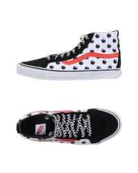 Vans | White High-tops & Trainers for Men | Lyst