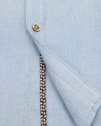 Ted Baker | Blue Elsu Spot Shirt for Men | Lyst