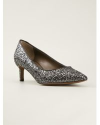 Marni - Metallic Glitter Pumps - Lyst
