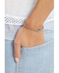 Brooke Gregson | Blue 18karat Gold Sterling Silver and Labradorite Bracelet | Lyst