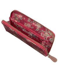 Cath Kidston Red Cath Kidson Kingswood Rose Purse