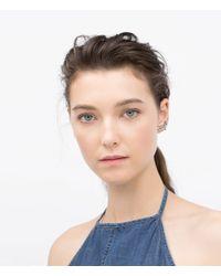 Zara | Blue Earcuff Earring | Lyst