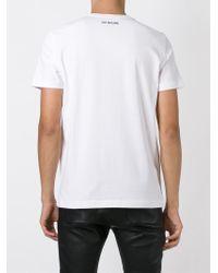 Love Moschino White Logo Print T-Shirt for men