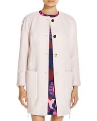 Ted Baker - Natural Mawd Cocoon Coat - Bloomingdale's Exclusive - Lyst