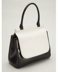 The Row - Metallic Top Handle Bag - Lyst