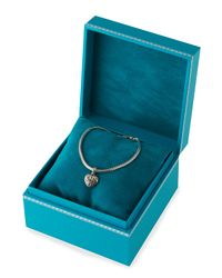 John Hardy - Metallic Classic Chain Bracelet With Heart Charm - Lyst